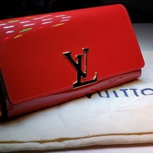 Louis Vuitton - Louise Wallet (red)